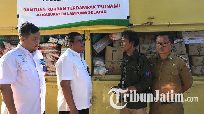 PT Petrokimia Gresik (PG) group Salurkan Bantuan untuk Korban Bencana Tsunami Banten dan Lampung