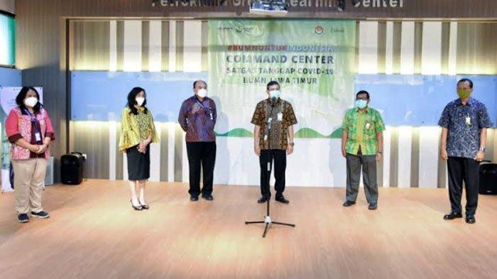 Dukung Penelitian Deteksi Covid-19 RSUD dr Soetomo Surabaya, Petrokimia Gresik Kucurkan Rp 163 juta