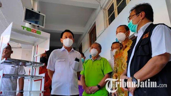 RSUD dr Soetomo Kedatangan 'Robot Tomo', Pembantu Tenaga Medis Rawat Pasien Covid-19