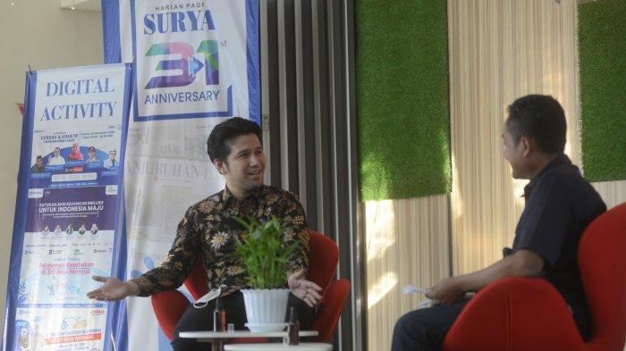 Pilih Fokus Bekerja, Emil Enggan Tanggapi Potensi Terjun Kontestasi Nasional di Pemilu 2024