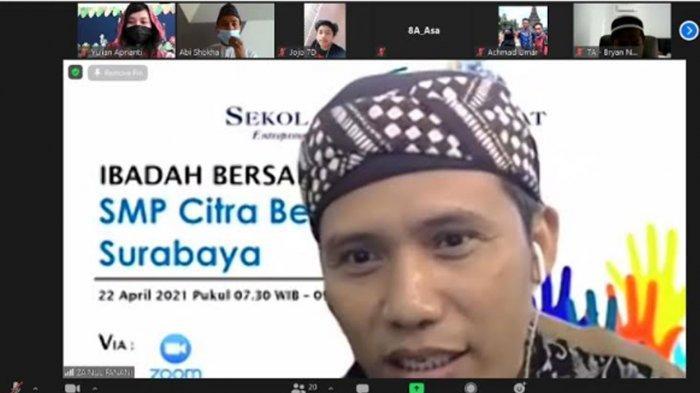 SMP Citra Berkat Surabaya Gelar Ibadah Bersama Lintas Agama, Ajarkan Toleransi, 'Berbeda Itu Indah'