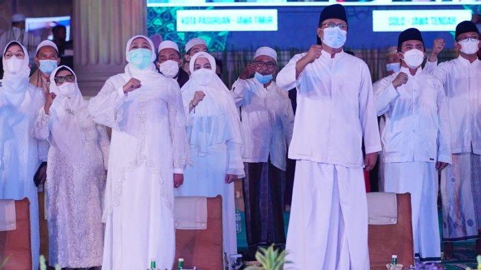 Doa dan Sholawat Indonesia Untuk Palestina Dihadiri 1,5 Juta Orang Taat Prokes
