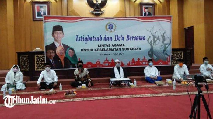 DPRD Surabaya Gelar Istighotsah dan Doa Lintas Agama Virtual, 'Semoga Pandemi Covid-19 Berakhir'