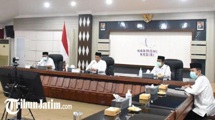 Doa Bersama Alim Ulama dan Masyarakat di Kota Kediri, Ikhtiar Mengatasi Pandemi Covid-19