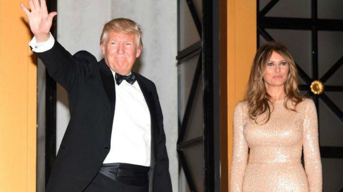 Donald Trump dan Melania Trump.