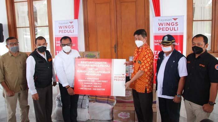 Yayasan Wings Peduli Serahkan Donasi Logistik untuk Rumah Sakit Lapangan Surabaya dan Bangkalan