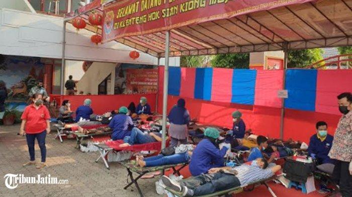 Stok Darah di Mojokerto Pada Ramadan 2021 Mengkhawatirkan, PMI Bersama Warga Tionghoa Lakukan Ini