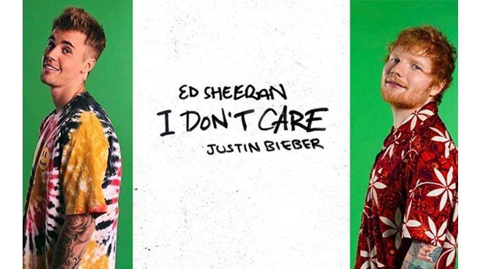 Download Lagu MP3 'I Don't Care' Ed Sheeran & Justin Bieber yang Masuk Viral 50 Global Spotify