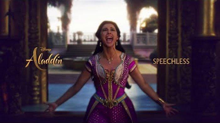 Download Lagu MP3 'Speechless' Naomi Scott selain 'A Whole New World' dalam 'Aladdin' 2019