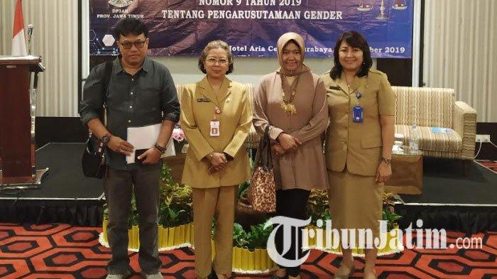 Sosialisasi Perda No 9 Tahun 2019, DP3AK Jawa Timur Dorong Pengarusutamaan Gender