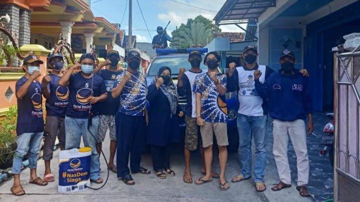 NasDem Gresik Turun ke Desa Bantu Penanganan Covid-19 di masa PPKM Darurat