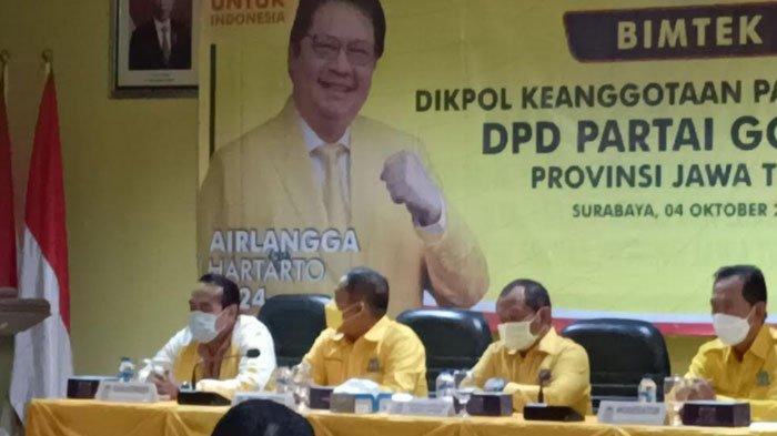 Ancang-ancang Sambut Tahapan Pemilu 2024, Partai Golkar Jatim Persiapkan Pendataan