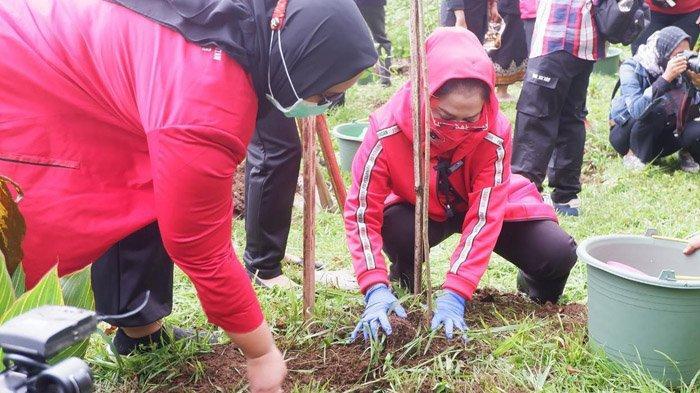 PDI Perjuangan Jatim Tanam Pohon dan Bersih-bersih Sungai pada Peringatan HUT Partai ke-48