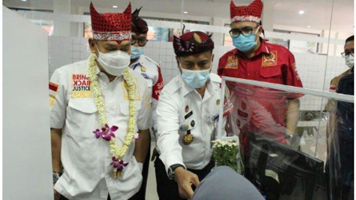 Kunjungan24 anggota Komisi III DPR RIke Kantor Imigrasi Kelas I Khusus TPI Surabaya pada, Rabu (14/10/2020) siang.