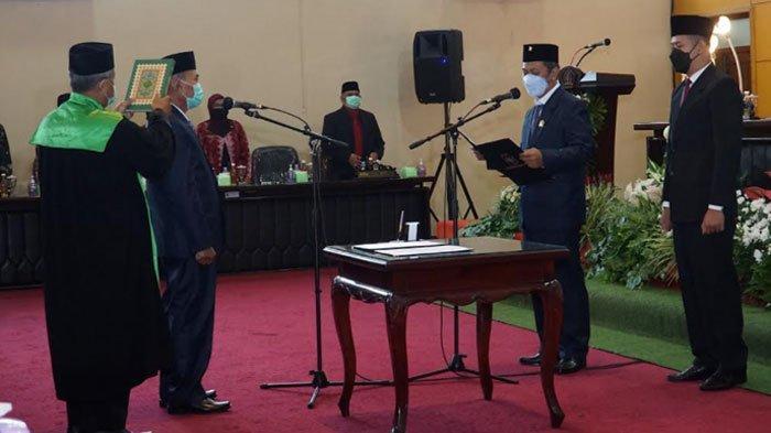 Ketua DPRD Kota Blitar Pimpin Paripurna Pengucapan Sumpah/Janji PAW Anggota Dewan
