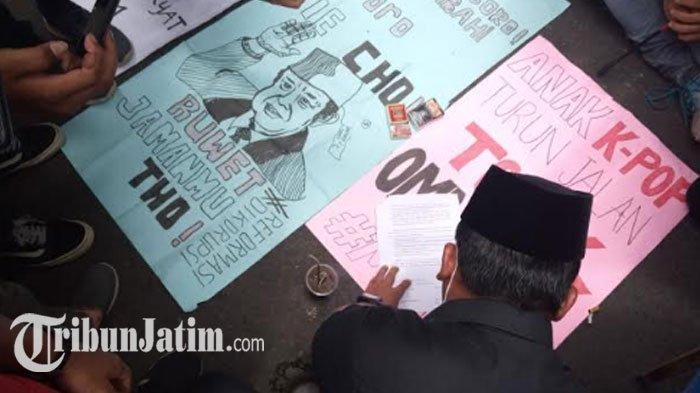 DPRD Tulungagung Janji Kawal Penolakan UU Cipta Kerja, 'Tolak Bersama Pasal yang Menindas Rakyat'