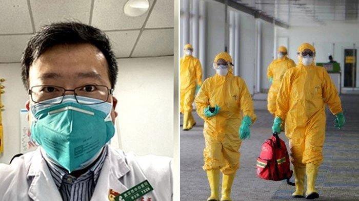 Pertama Deteksi Virus Corona, Dokter Li Wenliang Kini Meninggal Dunia, Tinggalkan Istri yang Hamil