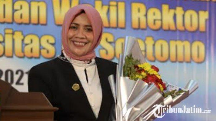 Cerita Siti Marwiyah Tak Pernah Terfikir dari Dosen Fakultas Hukum Jadi Rektor Unitomo Surabaya