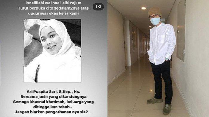 Sosok Viral Perawat Hamil 4 Bulan Positif Covid-19, Karir Medis Dikuak, dr Tirta: Bendera 1/2 Tiang