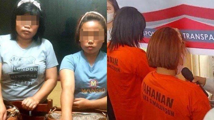 Dua emak pembunuh Porta Tumanggor, petani kopi asal Tanjung Tinggir, Kecamatan Purba, Kabupaten Simalungun.