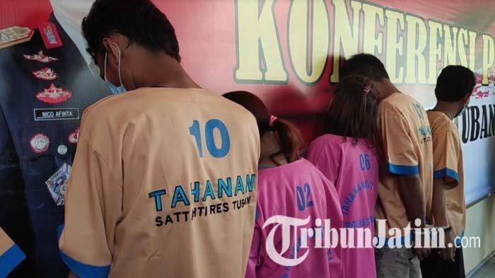 Akhir Dua Pasutri Pengedar Sabu di Tuban Setelah Dua Tahun Bebas Transaksi Barang Haram