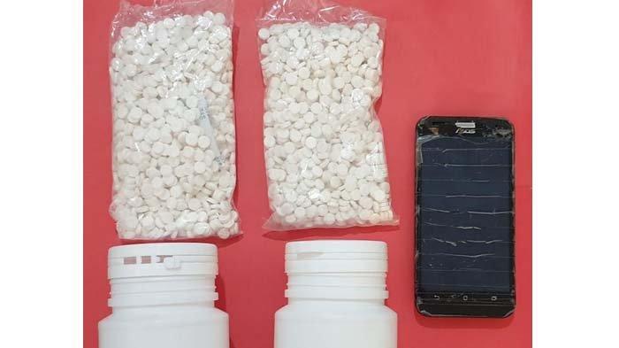 Bekuk Dua Pengedar Narkoba di Kediri, Polisi Amankan Ribuan Butir Pil Dobel L