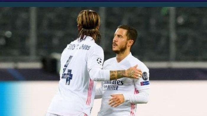 Bukannya Sedih, Hazard Justru Ketawa-ketiwi dengan Pemain Chelsea Saat Madrid Kalah: 'Mata-mata'