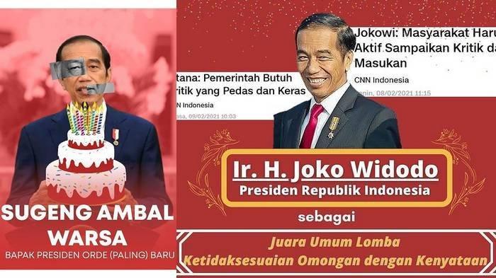 Arti Sindiran Presiden Orde (Paling) Baru untuk Jokowi, Aliansi Mahasiswa UGM Beri 'Penghargaan' Ini