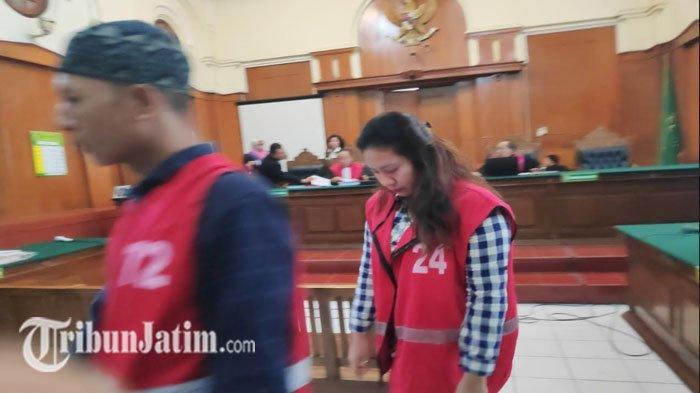 Tangis Bahagia Janda Cantik Saat Divonis 14 Tahun Bui Kasus Sabu, Hakim Beri Waktu Sepekan Bersikap
