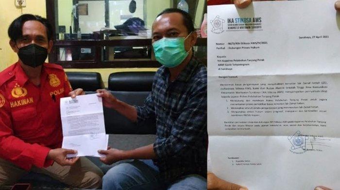 Dukung Penyidikan Kematian Zainal Fattah, IKA Stikosa AWS: Tangkap Seluruh Pelaku Penganiayaan