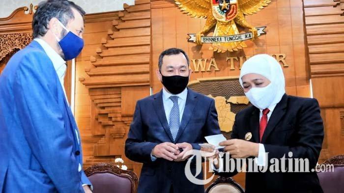 Dubes Kazakhstan Bawa Delegasi Investor Jajaki Peluang Bisnis dan Investasi di Jawa Timur