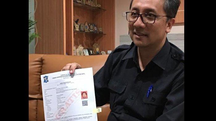 Stok Blangko e-KTP Menipis, Pemkot Surabaya Buatkan KTP Virtual Certificate