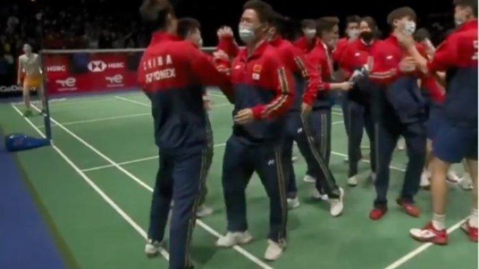Hasil Piala Sudirman 2021 - Bungkam Jepang 3-1, China Juara