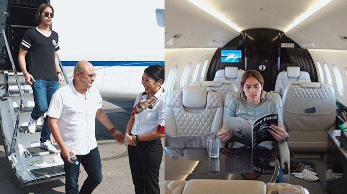 Kehebohan di Balik Vlog El Rumi Terbang 'Manasin' Jet Pribadi Irwan-Maia, Ramai Komen Soal Syahrini