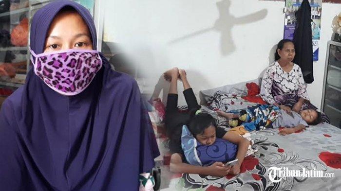 Ketegaran Ibu dan 2 Putri Tunggu Serda Hermanto Awak KRI Nanggala 402 Pulang, Pegang Janji 'Bermain'