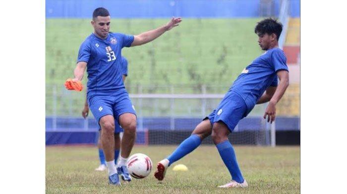 Elias Alderete Pemain Asing Pertama yang Gabung Latihan Bersama Arema FC, Begini Kondisi Fisiknya