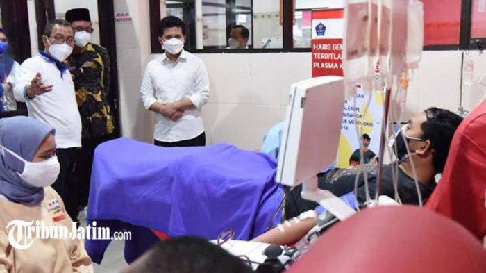 Wagub Emil Dardak Dorong Penyintas Covid-19 Lebih Aktif Donor Plasma Konvalesen, 'Sangat Dibutuhkan'