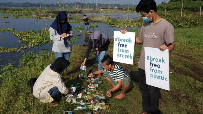 Waduk Karangkates Tercemar Sampah Plastik, Begini Sikap DLH Kabupaten Malang