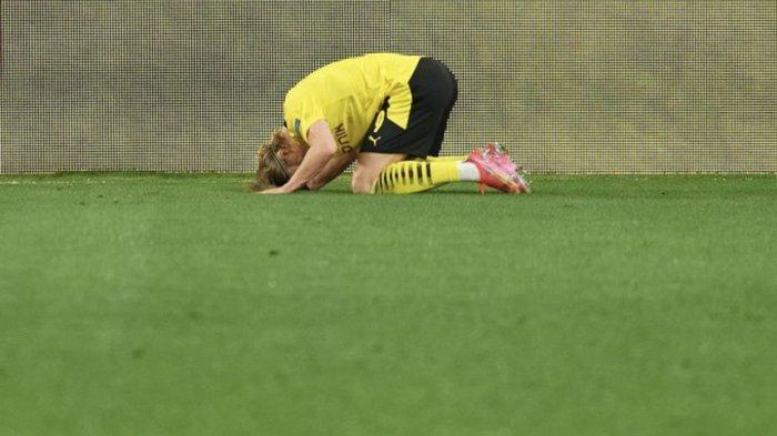 Ada Sujud Erling Haaland Dalam Kemenangan Dortmund di Markas Sevilla