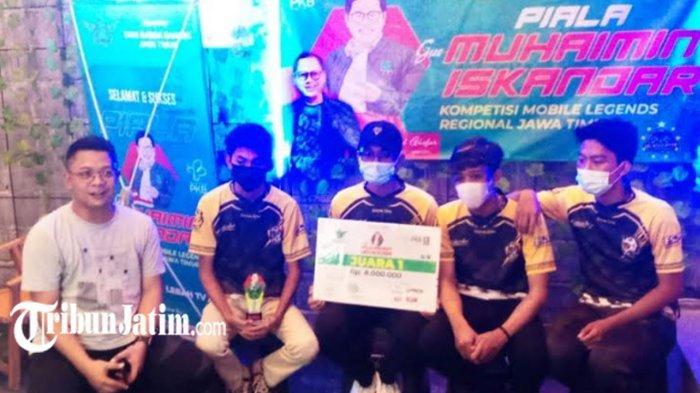 Lamongan Juarai ESports Mobile Legends Jatim di Harlah PKB Ke-23, Awal Final Sempat Kalah Telak