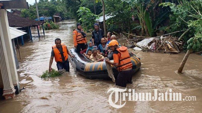 Banjir di Kabupaten Madiun Meluas, 4.317 Warga di 35 Desa Terdampak Bencana