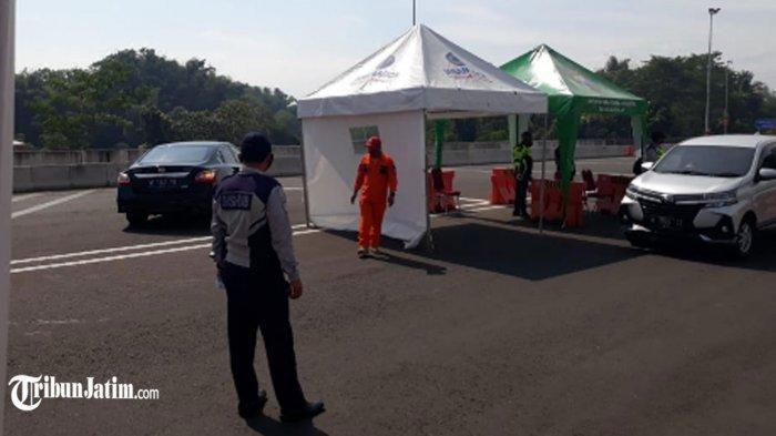 H +2 Lebaran 2021 Bertambah 18 Kasus Covid-19, di Exit Tol Madyopuro 123 Mobil Diminta Putar Balik