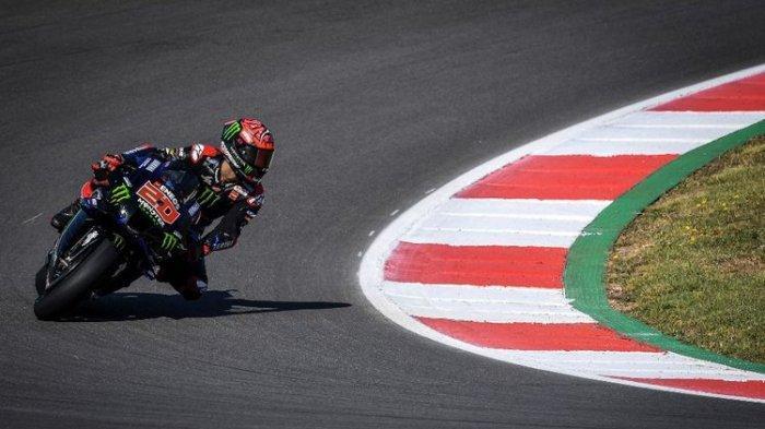 Starting Grid MotoGP Catalunya 2021 - Quartararo Terdepan, Duo Ducati Ngekor, Rossi Start ke-11