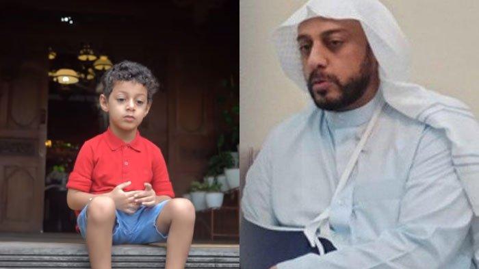 Reaksi Fahad Anak Syekh Ali Jaber saat Tahu Ayahnya Telah Meninggal, Masih Panggil-panggil 'Abuya'