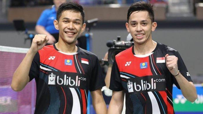 Cara Unik Fajar Alfian dan Rian Ardianto Atasi Rasa Jenuh Selama Karantina Jelang Thailand Open