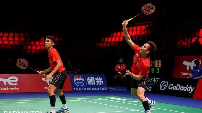 Hasil Piala Thomas - Fajar/Rian Kena Libas Juara Olimpiade, Taiwan Imbangi Indonesia 1-1
