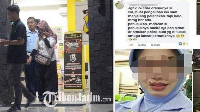 Polresta Sidoarjo Sudah Periksa Istri Peltu YNS yang Nyinyiri Penusukan Wiranto, Lihat Nasibnya Kini