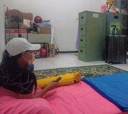 Fasilitas Isolasi Bagi Pekerja Migran di Kelurahan Burengan Kediri Standar Hotel