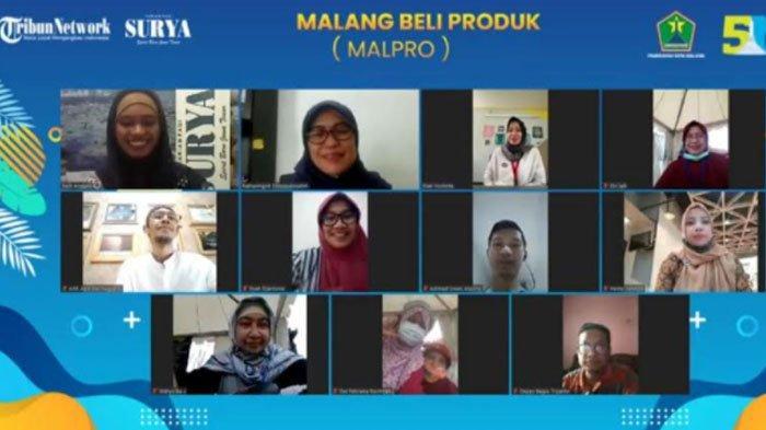 FDG bertema Malang Beli Produk Lokal (Malpro) Vol.4 dengan topik Permodalan, Sertifikasi Halal, dan Mentoring Pengembangan Bisnis, Rabu (11/11/2020).
