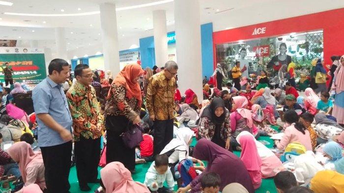 Unusa Gandeng Ribuan Ibu dan Anak Ikut Festival Seni Anak Se-Surabaya Lomba Gerak, Nyanyi dan Lukis